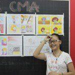 triển lãm cuối khóa lớp học vẽ truyện tranh cho bé ở TPHCM 5