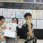triển lãm cuối khóa lớp học vẽ truyện tranh cho bé ở TPHCM 9