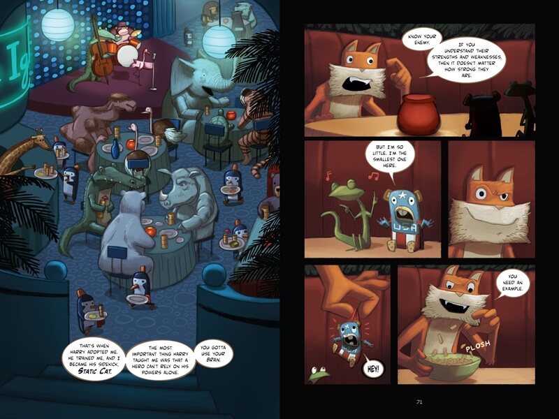 Sidekicks Graphic Novel Hình thái nghệ thuật độc đáo