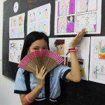 học vẽ truyện tranh thiếu nhi Hà Phương