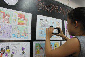 học vẽ truyện tranh thiếu nhi ở TPHCM