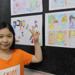 học vẽ truyện tranh thiếu nhi Thanh Thanh