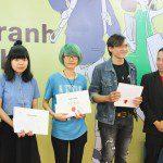học viên Viện Truyện tranh và Hoạt hình nhận học bổng