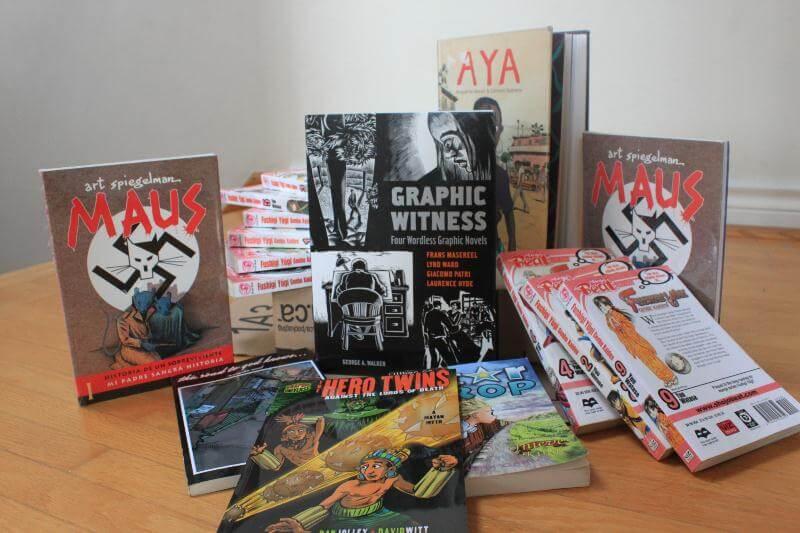 lợi ích từ graphic novel với đối tượng độc giả khác nhau 1