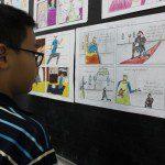 học vẽ truyện tranh thiếu nhi