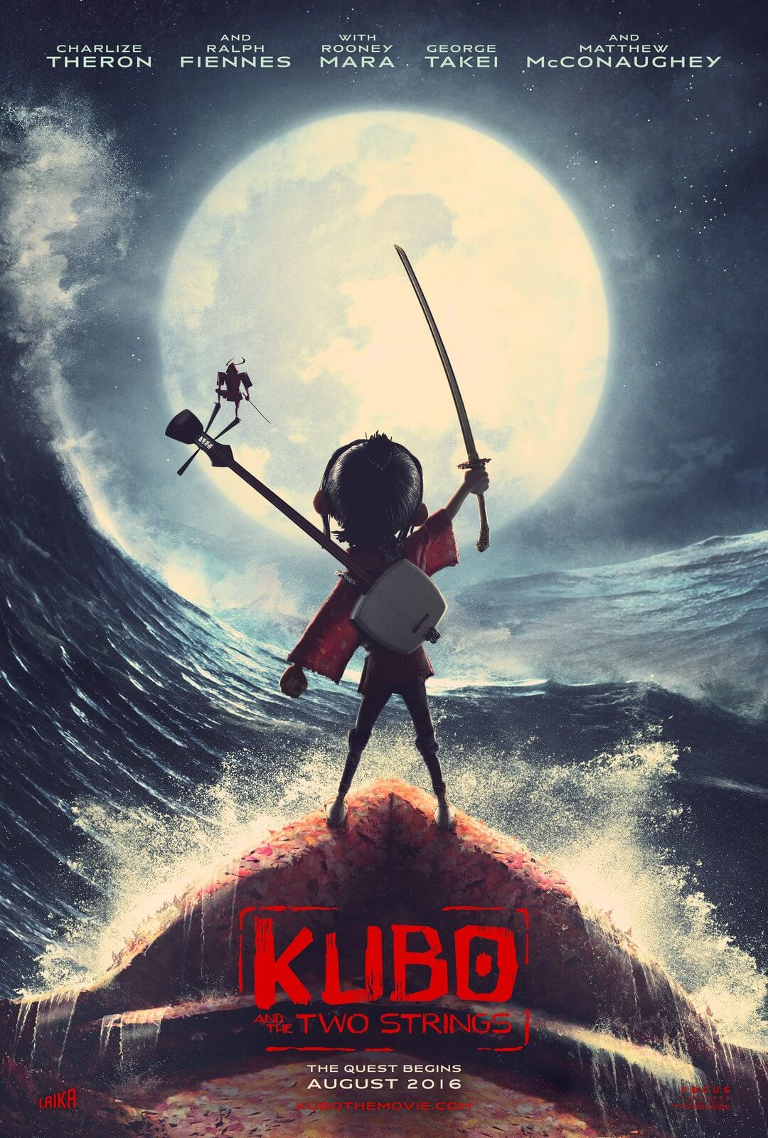 phim hoạt hình Kubo and The Strings