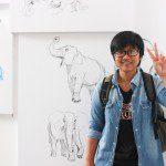 tân học viên khóa 5 Viện Truyện tranh và Hoạt hình