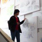 tân học viên khóa 5 Viện Truyện tranh và Hoạt hình 2