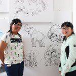 tân học viên khóa 5 Viện Truyện tranh và Hoạt hình 4