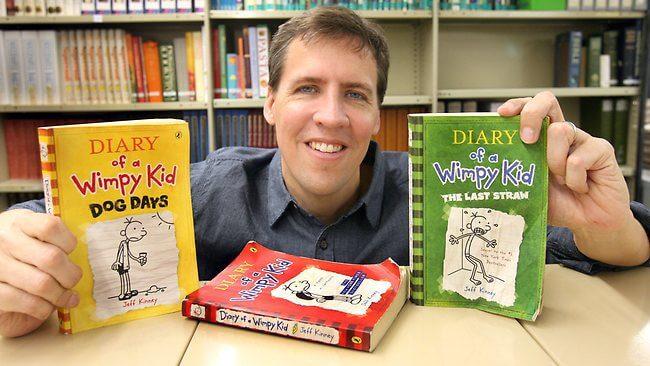 top 12 nhà văn có thu nhập cao nhất thế giới Jeff Kinney