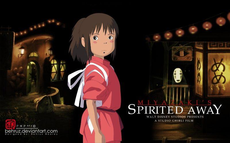 Spirited Away Vùng đất linh hồn