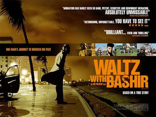 giải Oscar Phim hoạt hình hay nhất Waltz with Bashir