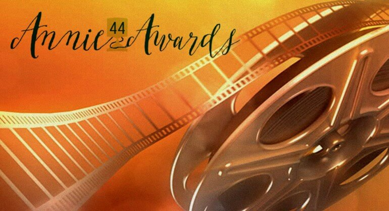 giải thưởng Annie Awards lần thứ 44