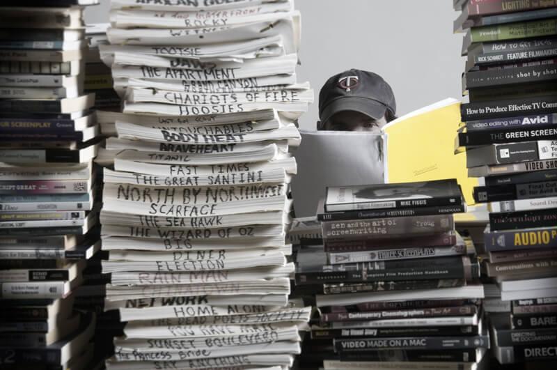 nhà biên kịch và thói quen đọc