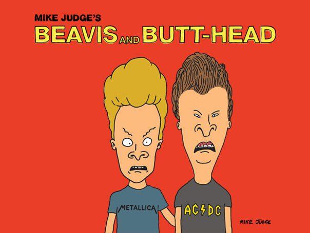 phim hoạt hình Beavis Butt Head của Mike Judge