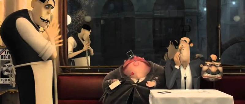 phim hoạt hình French Roast
