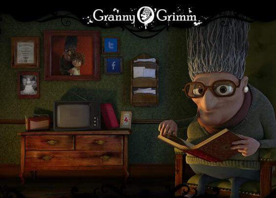 phim hoạt hình Granny O Grimm Sleeping Beauty