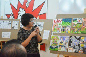 thuyết trình đồ án cuối khóa lớp vẽ truyện tranh cấp tốc 1