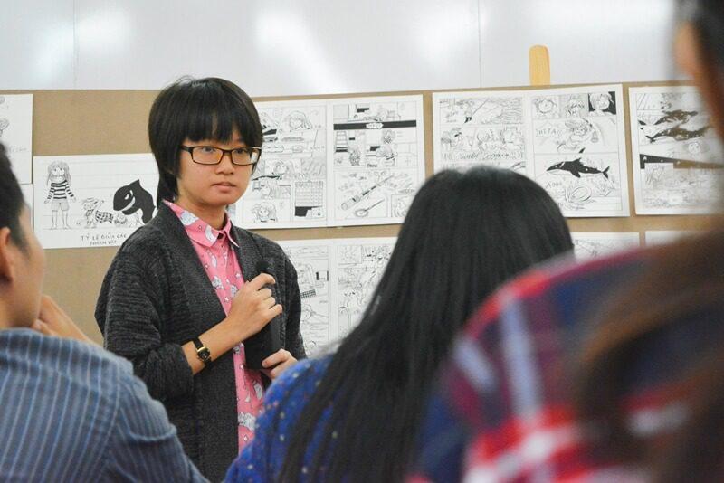 thuyết trình đồ án cuối khóa lớp vẽ truyện tranh cấp tốc 12