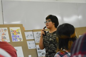 thuyết trình đồ án cuối khóa lớp vẽ truyện tranh cấp tốc 15