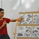 thuyết trình đồ án cuối khóa lớp vẽ truyện tranh cấp tốc 16