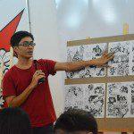 thuyết trình đồ án cuối khóa lớp vẽ truyện tranh cấp tốc 17