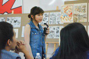 thuyết trình đồ án cuối khóa lớp vẽ truyện tranh cấp tốc 6