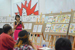 tổng kết lớp vẽ truyện tranh cấp tốc khóa 3 6