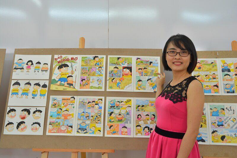 triển lãm cuối khóa lớp vẽ truyện tranh cấp tốc khóa 3 26