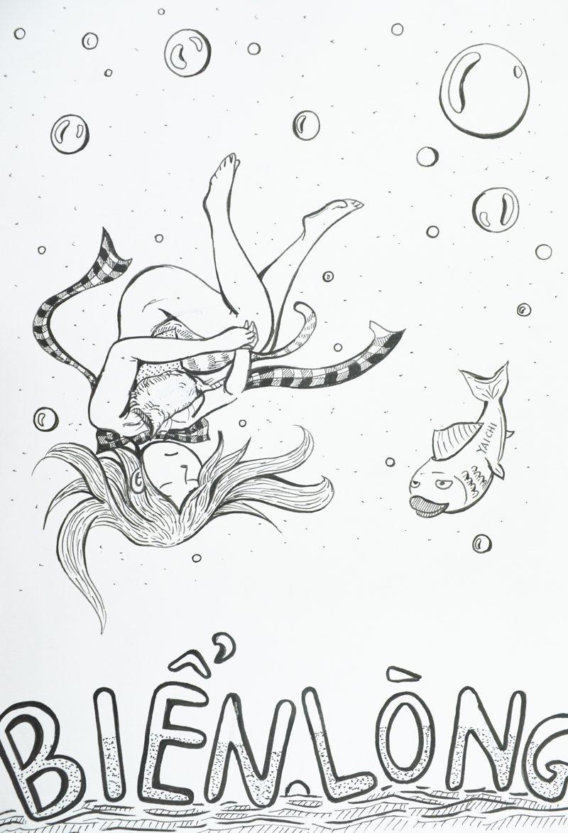 truyện tranh Biển Lòng