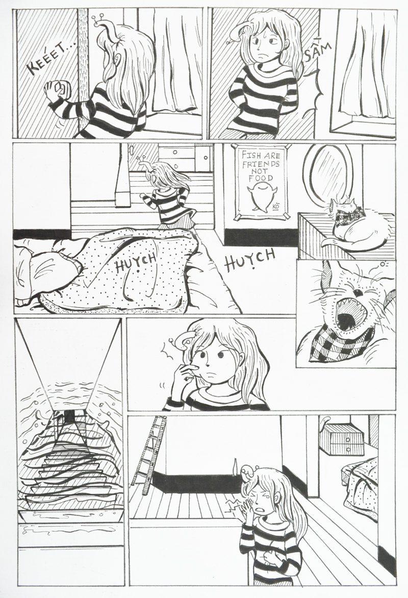truyện tranh Biển Lòng 003