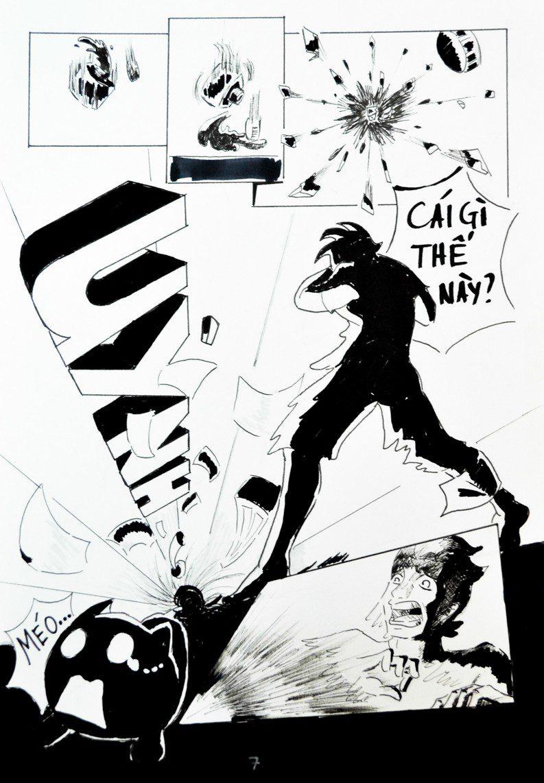 truyện tranh chiến họa sư 007