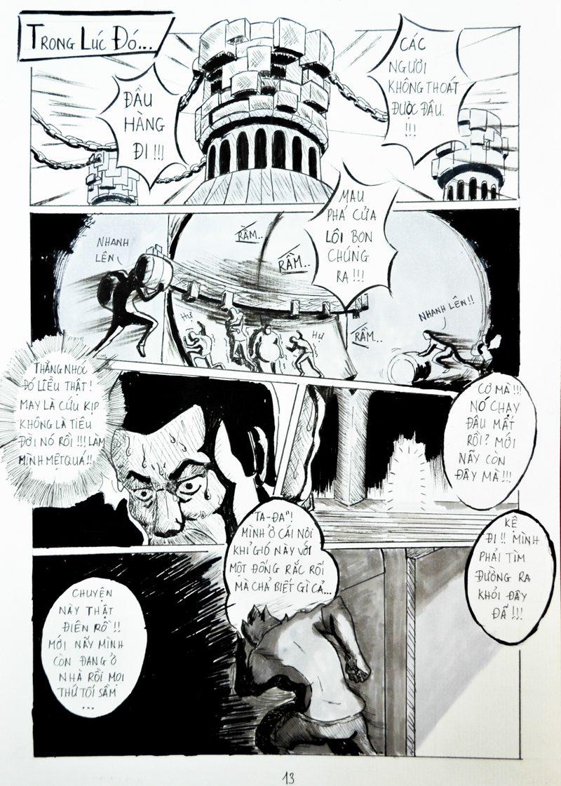 truyện tranh Chiến Họa Sư 013