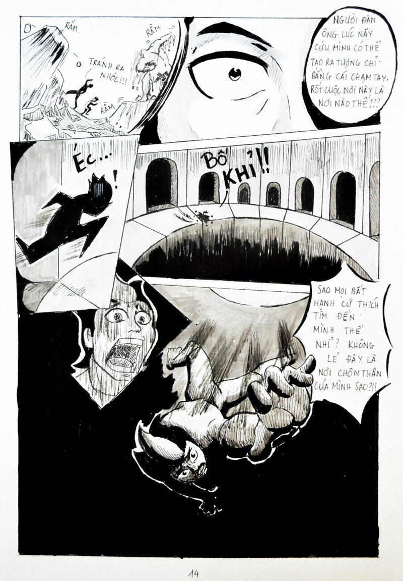 truyện tranh Chiến Họa Sư 014