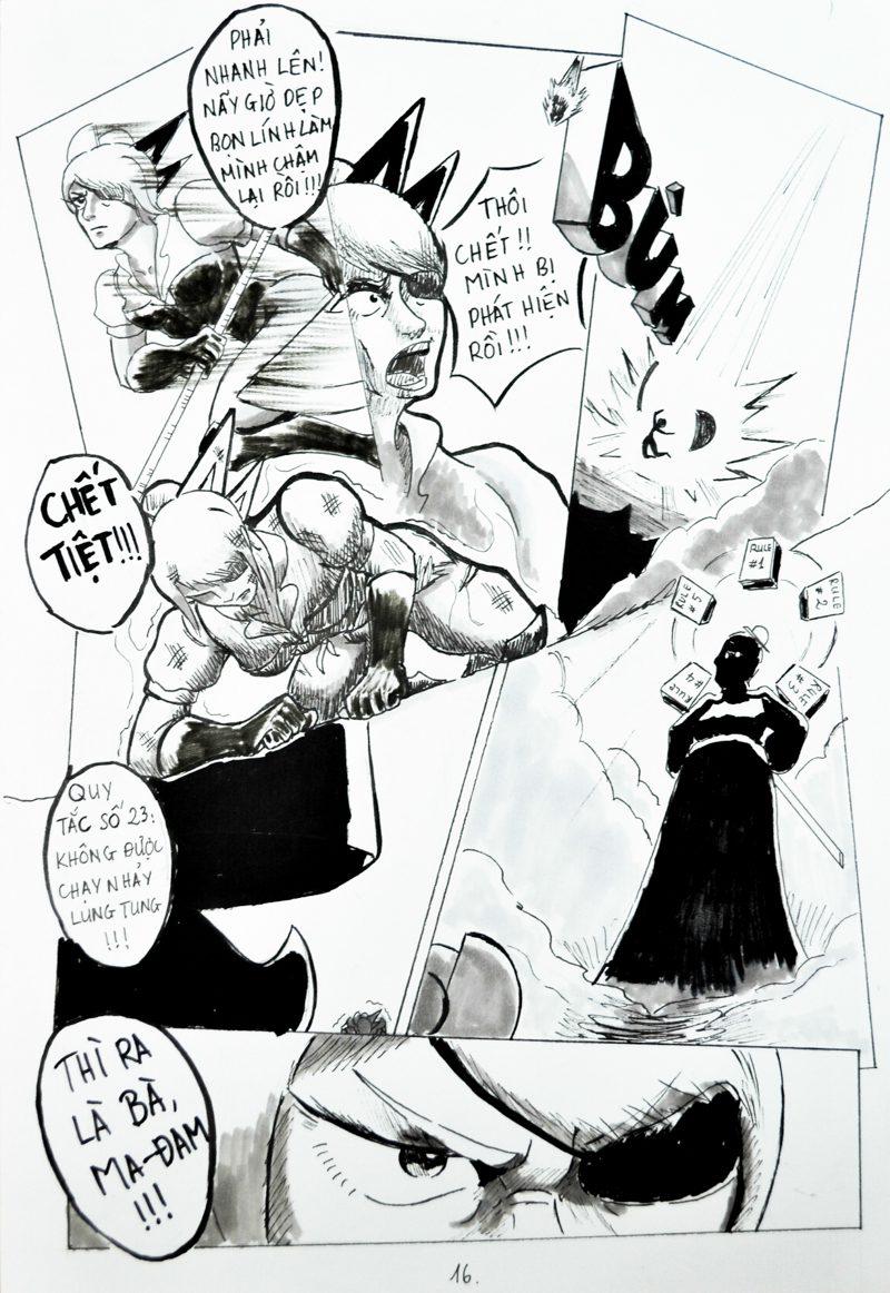 truyện tranh Chiến Họa Sư 016