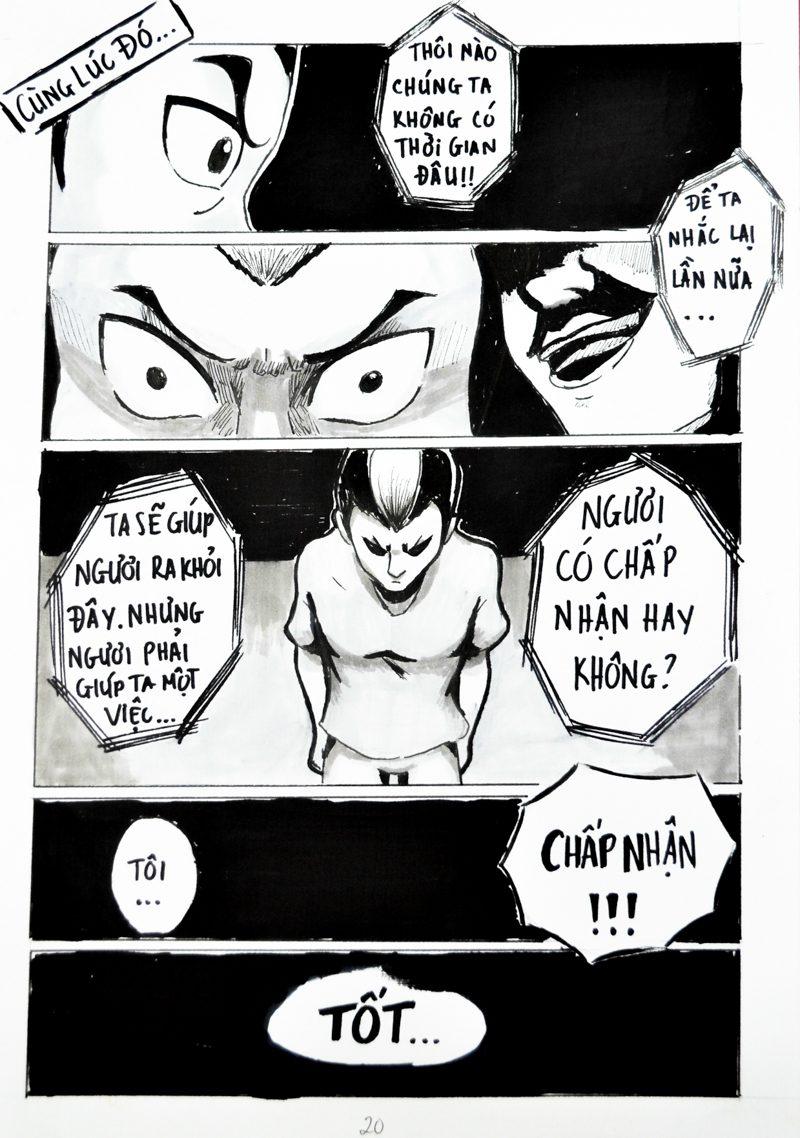 truyện tranh Chiến Họa Sư 020