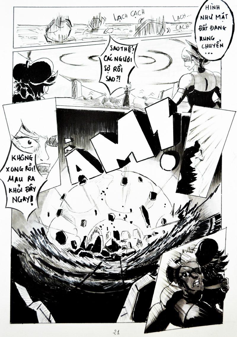 truyện tranh Chiến Họa Sư 021