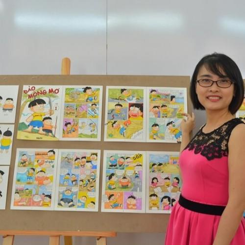 Nguyễn Thị Thanh Thảo – Học viên Lớp Truyện tranh cấp tốc Khóa 3