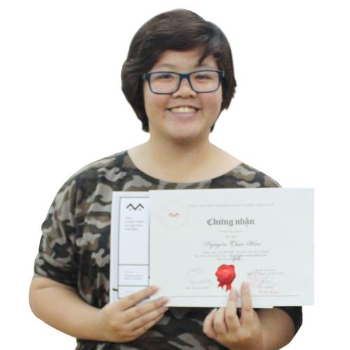 Nguyễn Thục Hân – Học viên Lớp Truyện tranh cấp tốc Khóa 3