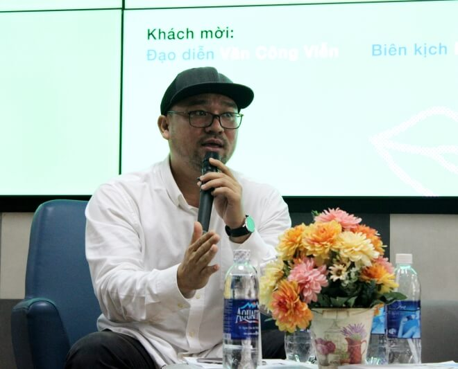 đạo diễn Văn Công Viễn chia sẻ về nghề biên kịch