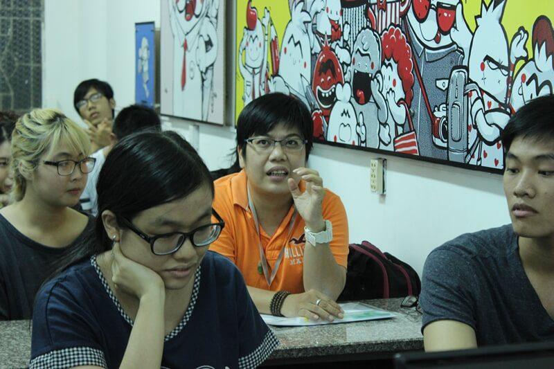 Du Bội Linh học viên lớp vẽ truyện tranh cấp tốc khóa 5