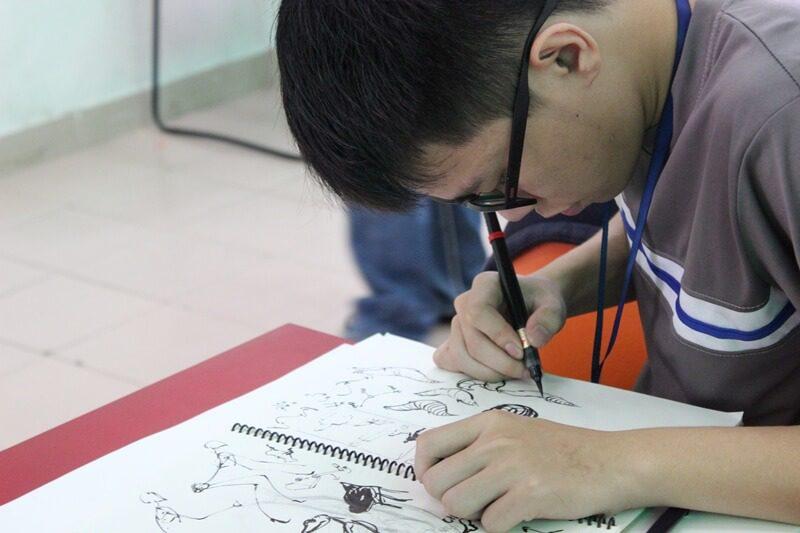 Hoàng Gia học viên khóa 2 ngành Họa sĩ vẽ truyện tranh