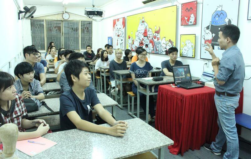 khai giảng lớp học vẽ truyện tranh cấp tốc khóa 5