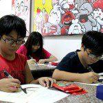 Lớp học vẽ truyện tranh căn bản ở TPHCM 4