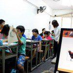 Lớp học vẽ truyện tranh căn bản ở TPHCM 5