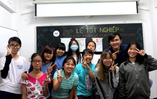 Tổng kết lớp dạy vẽ Manga Comics Nâng cao khóa 2