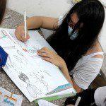 Lớp học vẽ truyện tranh thiếu nhi ở TPHCM
