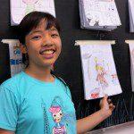 Lớp học vẽ truyện tranh thiếu nhi ở TPHCM 2