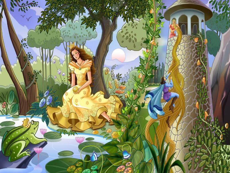 những câu chuyện cổ tích gắn liền với tuổi thơ