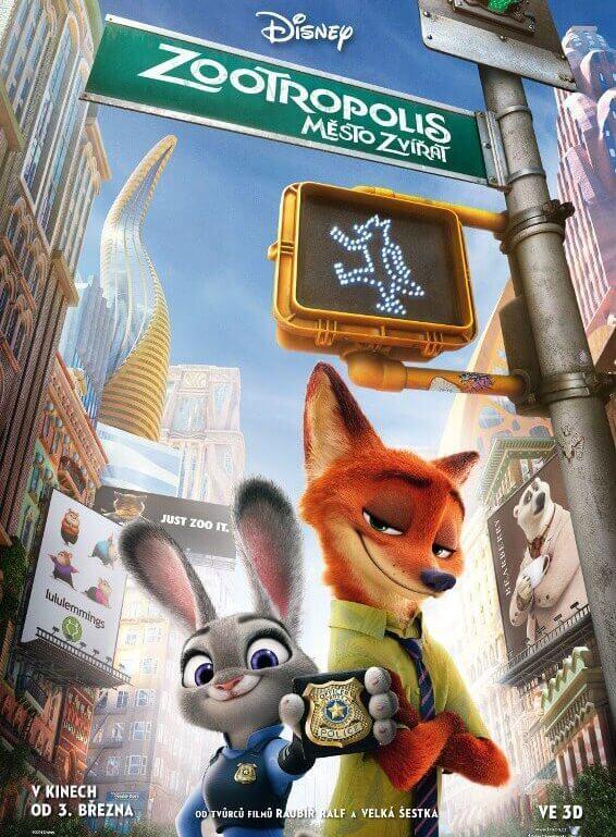 Phim hoạt hình Zootopia Oscars 2017